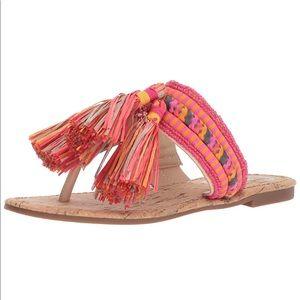 Circus by Sam Edelman Bella Flat Tassel Sandals